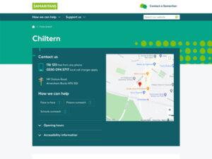 Chiltern Samaritans Chiltern Page