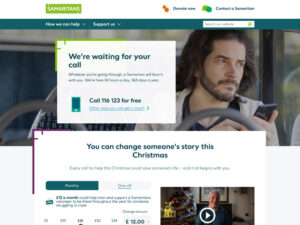 Chiltern Samaritans Home Page