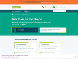 Chiltern Samaritans Talk to Us Page