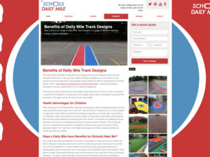 Daily Mile Benefits Page