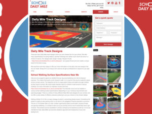 Daily Mile Designs Page