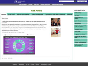 Get Active Home Page