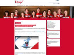 Leap About Us Page