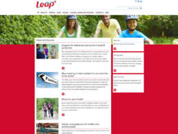 Leap Home Page