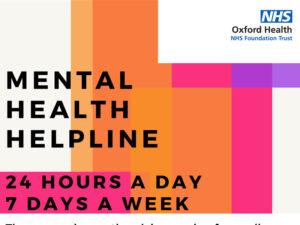 Mental Health Helpline Poster PDF