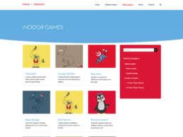 Move to Improve Indoor Games Page