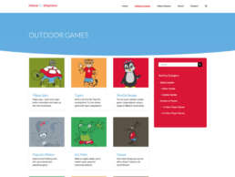 Move to Improve Outdoor Games Page