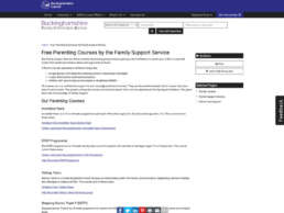 Parenting Support and Courses Free Courses Page