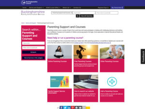 Parenting Support and Courses Home Page