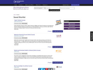 Parenting Support and Courses Online Courses Page