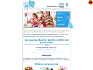 School Nursing Services Home Page
