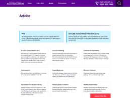 Sexual Health Bucks Advice Page