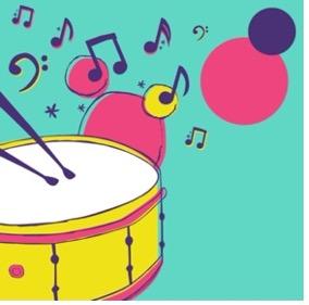 drums cartoon