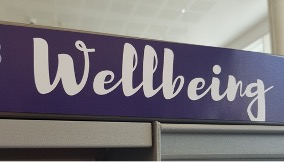 Wellbeing sign