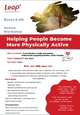 Active Lives Medicine Workshop Flyer